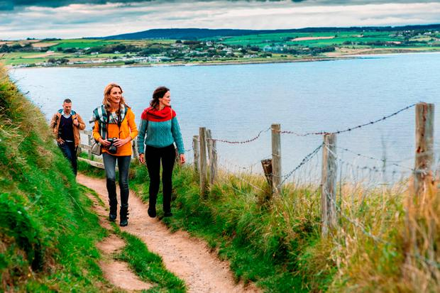 Ardmore Cliff Walk in Waterford