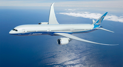 The new Boeing 787-10 Dreamliner. Photo: Boeing.com