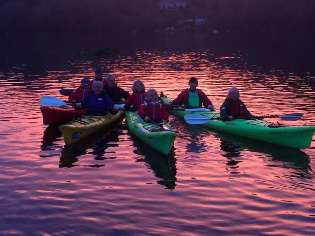 Sea Kayaking on Lough Hyne