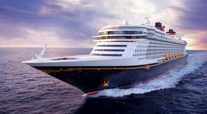 The Disney Dream cruise ship. Photo: Disney/PA.