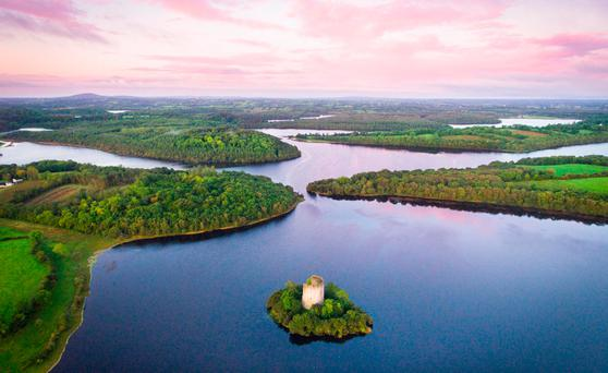 Cloughoughter Castle, Co. Cavan