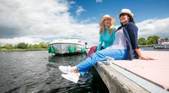 Portumna, Co. Galway - On the Lough Derg Blueway with an Emerald Star cruiser