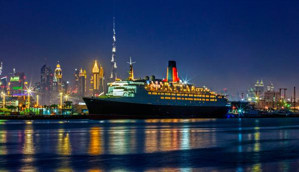 Dubai turns Britain's Queen Elizabeth 2 ship into a floating hotel