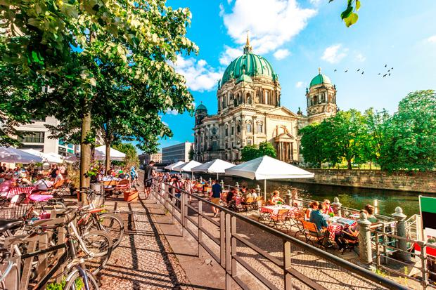 Spree River and Berliner Dom