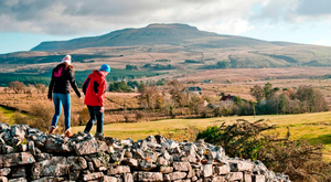 Walking in the Cavan Burren. Photo: Fáilte Ireland