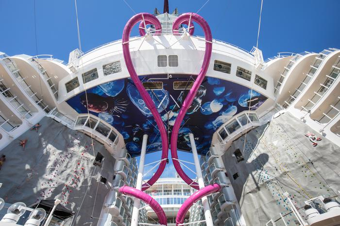 WATCH: What's it like on board the world's biggest cruise ship? -  Independent.ie