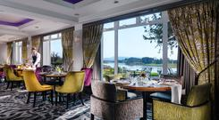 Kove Restaurant at Killyhevlin Lakeside Hotel, Co. Fermanagh