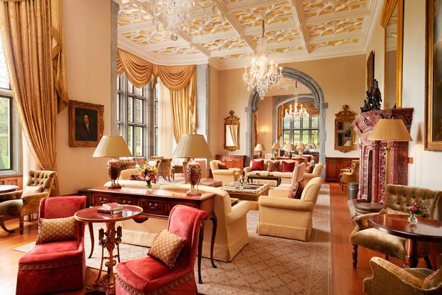 The Drawing Room at Adare Manor