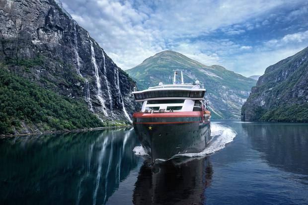 Norwegian cruise line Hurtigruten