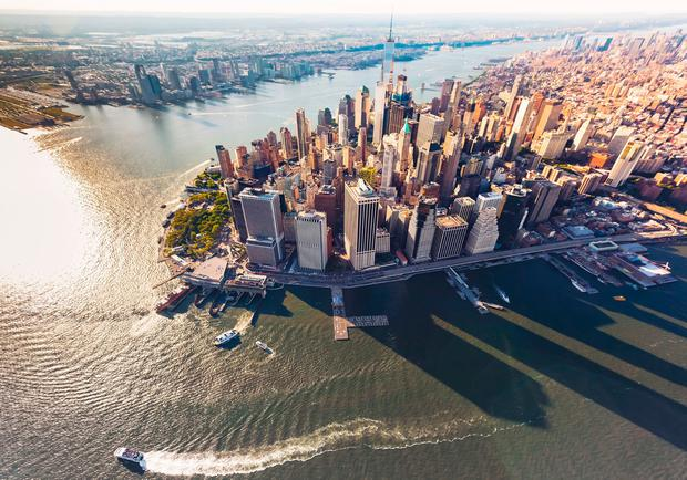 Manhattan and the Hudson River. PA Photo/Thinkstock.