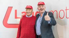 Niki Lauda and Michael O'Leary