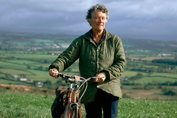 Dervla Murphy in 1990. Photo by NUTAN/Gamma-Rapho via Getty Images