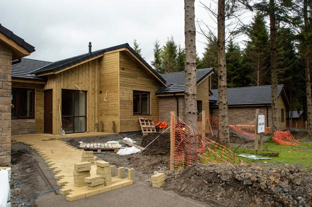 Center Parcs lodges in the Forest. Photo: ARC Studios Sis