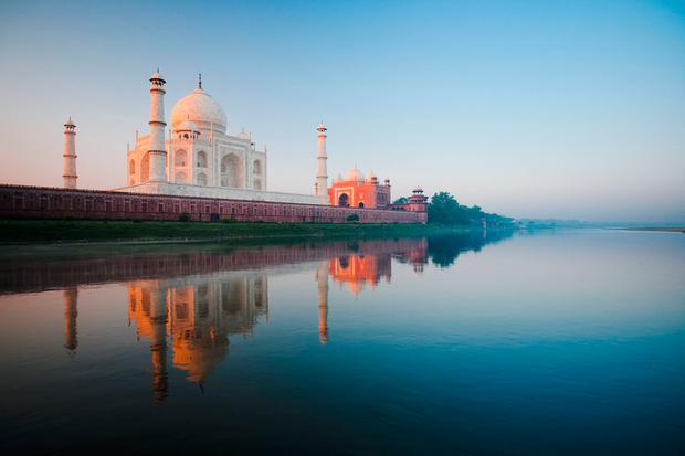 The Taj Mahal in India. PA Photo/thinkstockphotos.
