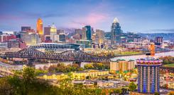 The city of Cincinnati, on the Ohio River, has a spirit that combines northern sensibilities with southern charm and midwest values