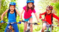 Cycling with kids