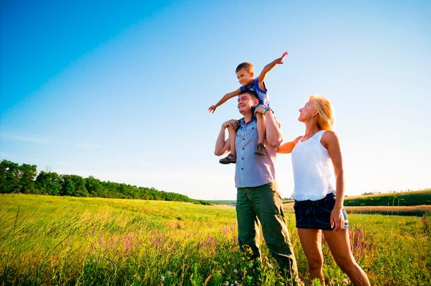 Make the most of the summer by doing things together, as a family