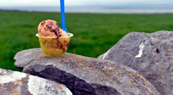 Linalla Ice-Cream Cafe, Co. Clare. Photo: Pól Ó Conghaile