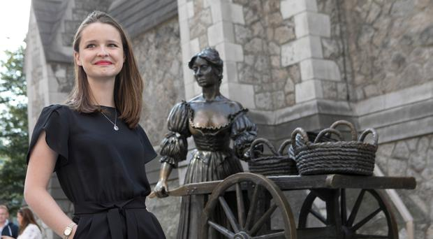 Michaela McMahon pictured at the launch of the latest Talking Statues project. Photo Chris Bellew /Fennell Photography
