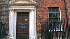 No. 14 Henrietta Street. Photo by Donal Corkery