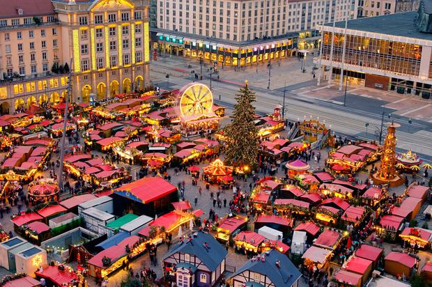 Christmas markets in Dresden. Photo: Deposit