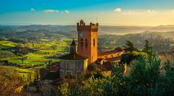 San Miniato in Tuscany. Photo: Caminoways.com