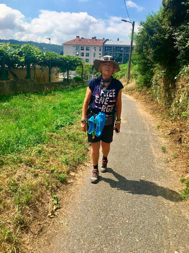 Isabel Conway on the Portuguese Camino
