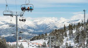 Skiing in the Catalan Pyrenees