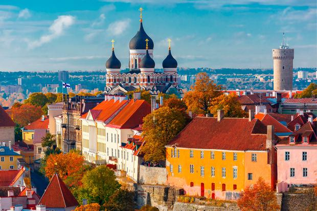 Toompea hill view in Tallinn, Estonia. PA/Thinkstock.