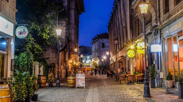 Bucharest is well known for its nightlife and it's unbelievably priced goods