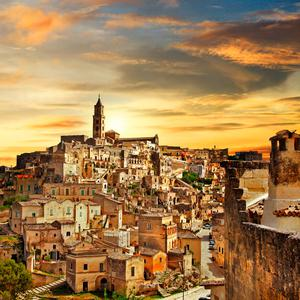 The ancient city of Matera
