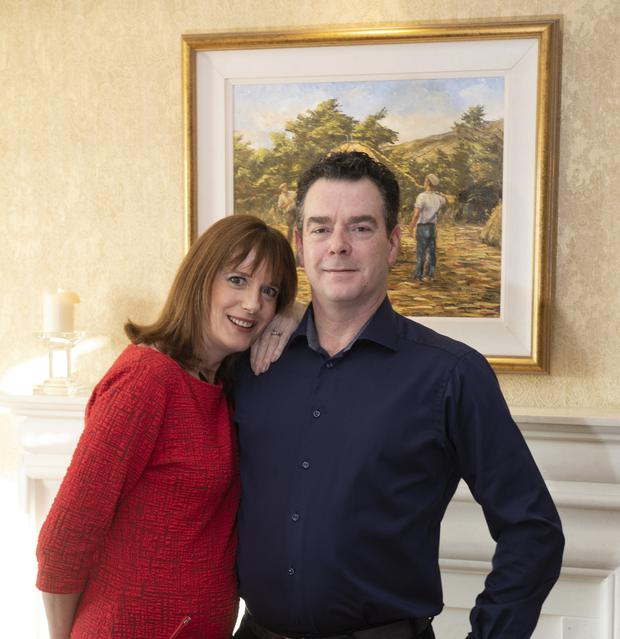 Helen and Brian of Castlewood B&B, Dingle