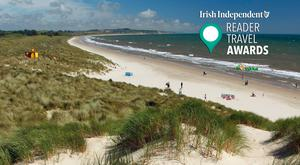 Curracloe, Co Wexford - voted Ireland's Favourite Beach 2019.