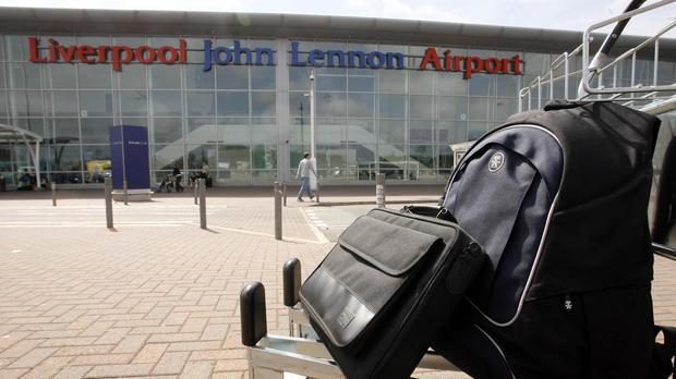 Some passengers said their flights had been cancelled (Peter Byrne/PA)