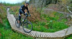 Mountain biking in Ballyhoura. Photo: Fáilte Ireland