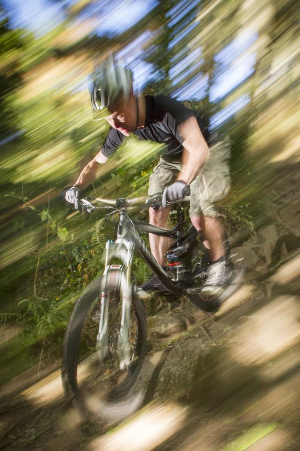 Mountain biking in Dublin. Photo: Fáilte Ireland
