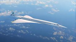Boom Supersonic is developing a supersonic airliner (Boom Supersonic/PA)