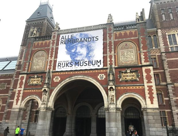 The Rijksmuseum, Amsterdam - which is holding the All The Rembrandts exhibition. Photo: Gabrielle Fagan/PA.