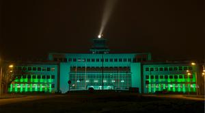 Dublin Airport's Old Terminal goes green