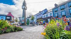 Westport: A town Fáílte Ireland cites for its