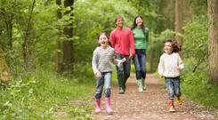 Walking: Fresh air for all ages and fitness levels