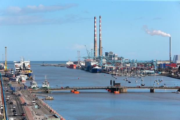 Dublin Port. Picture: Frank McGrath