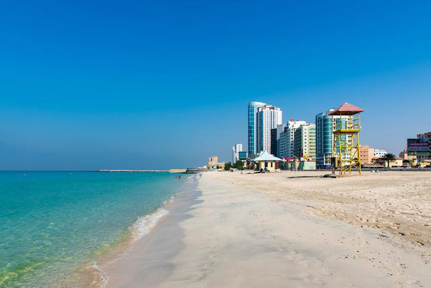 The Corniche in Ajman. PA Photo/iStock.