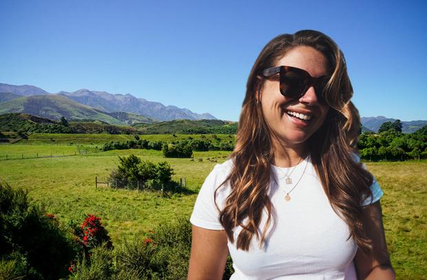 Self-Drive: Nadia in New Zealand (composite)
