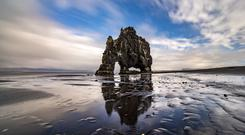 Hvitserkur, an eroded dyke. PA Photo/Renato Granieri.