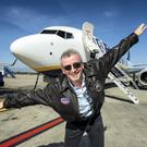 Ryanair CEO Michael O'Leary pictured at Dublin.