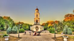 The bell tower of the Nativity Cathedral in Chisinau - Moldova. iStock/PA.