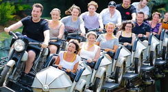 Hagrid's Magical Creatures Motorbike ride in Orlando. PA Photo/Universal Orlando Resort.