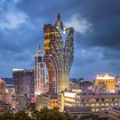 The impressive Macau skyline
