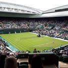 Centre Court in Wimbledon